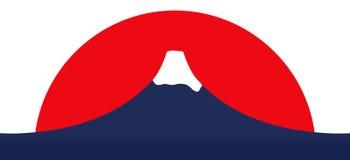 Montaje Fuji stock de ilustración