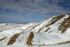 Montaje Hermon y Líbano del sur Foto de archivo
