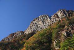 Montaje Ishizuchi Fotos de archivo