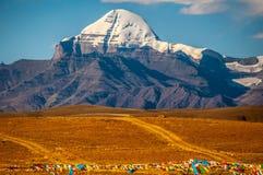 Montaje Kailash Fotografía de archivo