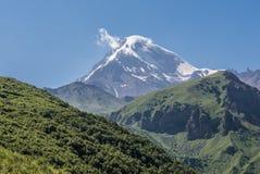 Montaje Kazbek Imagenes de archivo