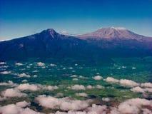 Montaje Kilimanjaro Fotos de archivo