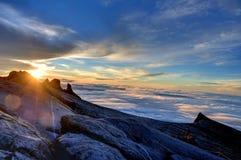 Montaje Kinabalu Fotografía de archivo libre de regalías