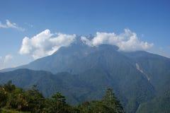 Montaje Kinabalu Borneo, malasio Foto de archivo