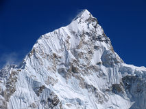 Montaje Lhotse Imagen de archivo libre de regalías