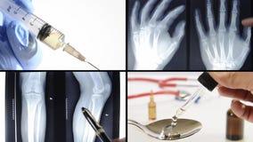 Montaje médico del trabajo metrajes