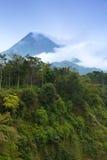 Montaje Merapi fotos de archivo