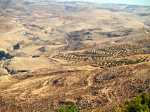 Montaje Nebo, Jordania foto de archivo libre de regalías