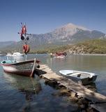 Montaje Olympos, Antalya, Turquía Foto de archivo libre de regalías