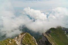 Montaje Pilatus, Suiza Fotografía de archivo