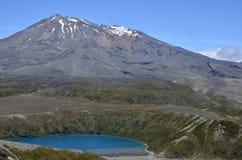Montaje Ruapehu, Nueva Zelandia Fotos de archivo libres de regalías