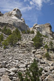 Montaje Rushmore Imágenes de archivo libres de regalías
