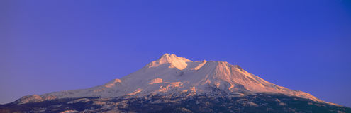 Montaje Shasta Foto de archivo libre de regalías