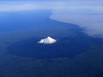 Montaje Taranaki o montaje Egmont de Nueva Zelandia Fotografía de archivo