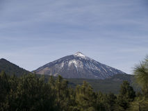 Montaje Teide Imagen de archivo