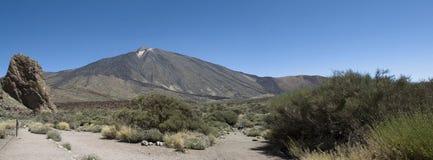 Montaje Teide Fotos de archivo