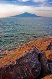 Montaje Vesuvio Fotos de archivo libres de regalías