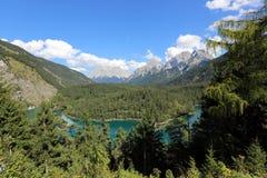 Montaje Zugspitze Foto de archivo