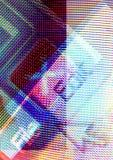 Montajes del ordenador Fotos de archivo