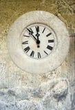 Montajes del reloj de la vendimia ilustración del vector