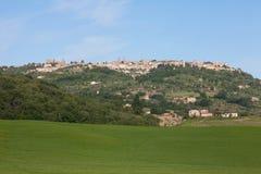 Montalchino,托斯卡纳 免版税库存照片
