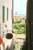 Montalcino royalty-vrije stock foto's