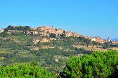 Montalcino 库存照片
