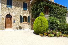 Montalcino stockfoto