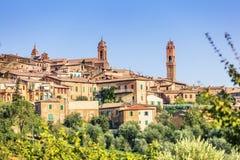 Montalcino Imágenes de archivo libres de regalías