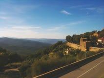 Montalcino Royaltyfri Foto