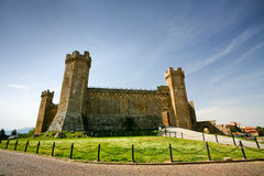 Montalcino Castle in Tuscany Royalty Free Stock Image
