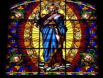 Montalcino, Church, Church Window Royalty Free Stock Images