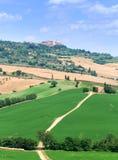 Montalcino en Toscana Imagen de archivo libre de regalías