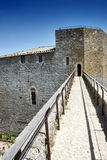 Montalcino Fortress Royalty Free Stock Photography