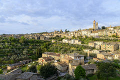 Montalcino panorama Royalty Free Stock Images