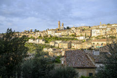 Montalcino panorama Royalty Free Stock Photo