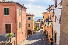 Montalcino street Royalty Free Stock Image