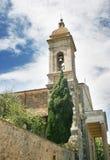 Montalcino in Toscanië Stock Foto