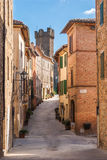 Montalcino, Tuscany, Italy Stock Images