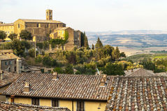 Montalcino (Tuscany) Royalty Free Stock Photos
