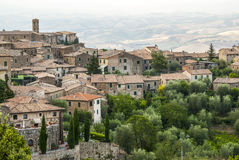 Montalcino (Tuscany) Stock Photo