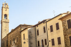 Montalcino (Tuscany) Stock Photography