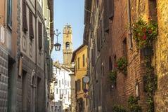 Montalcino (Tuscany) Stock Images