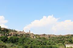 Montalcino, Tuscany, W?ochy zdjęcia royalty free