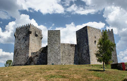 Montalegre castle Royalty Free Stock Image