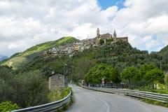 Montalto Ligure Italia Fotos de archivo libres de regalías