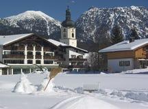 Montan@as austríacas Foto de archivo libre de regalías