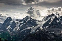 Montan@as de Bernese Imagen de archivo