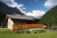 Montan@as del suizo del verano Imagen de archivo