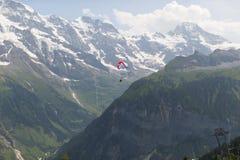 Montan@as en Suiza Imágenes de archivo libres de regalías